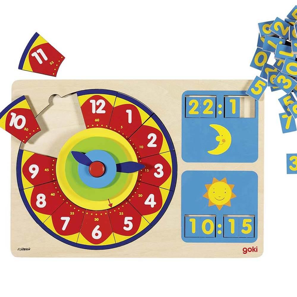 Образователен Часовник GOKI – Ден и Нощ