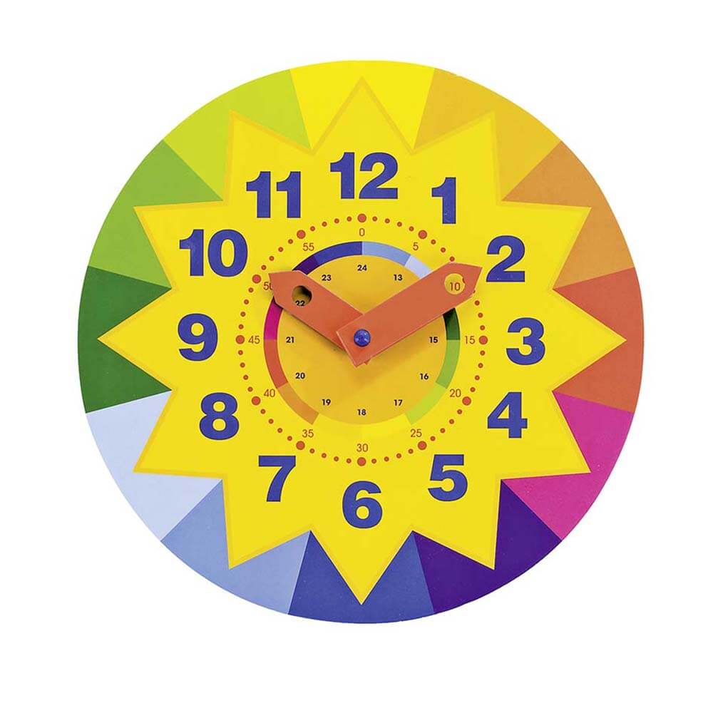 Образователен Часовник GOKI - Слънце