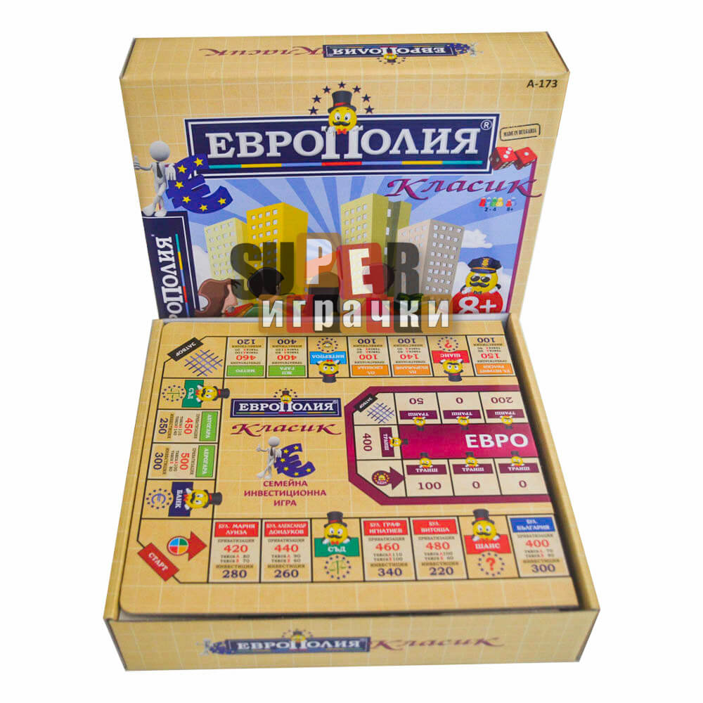 Европолия - Семейна Бордова Игра