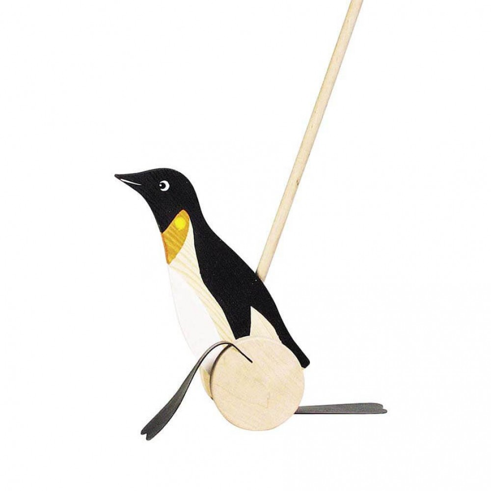 Играчка Стик за Бутане Пингвин GOKI