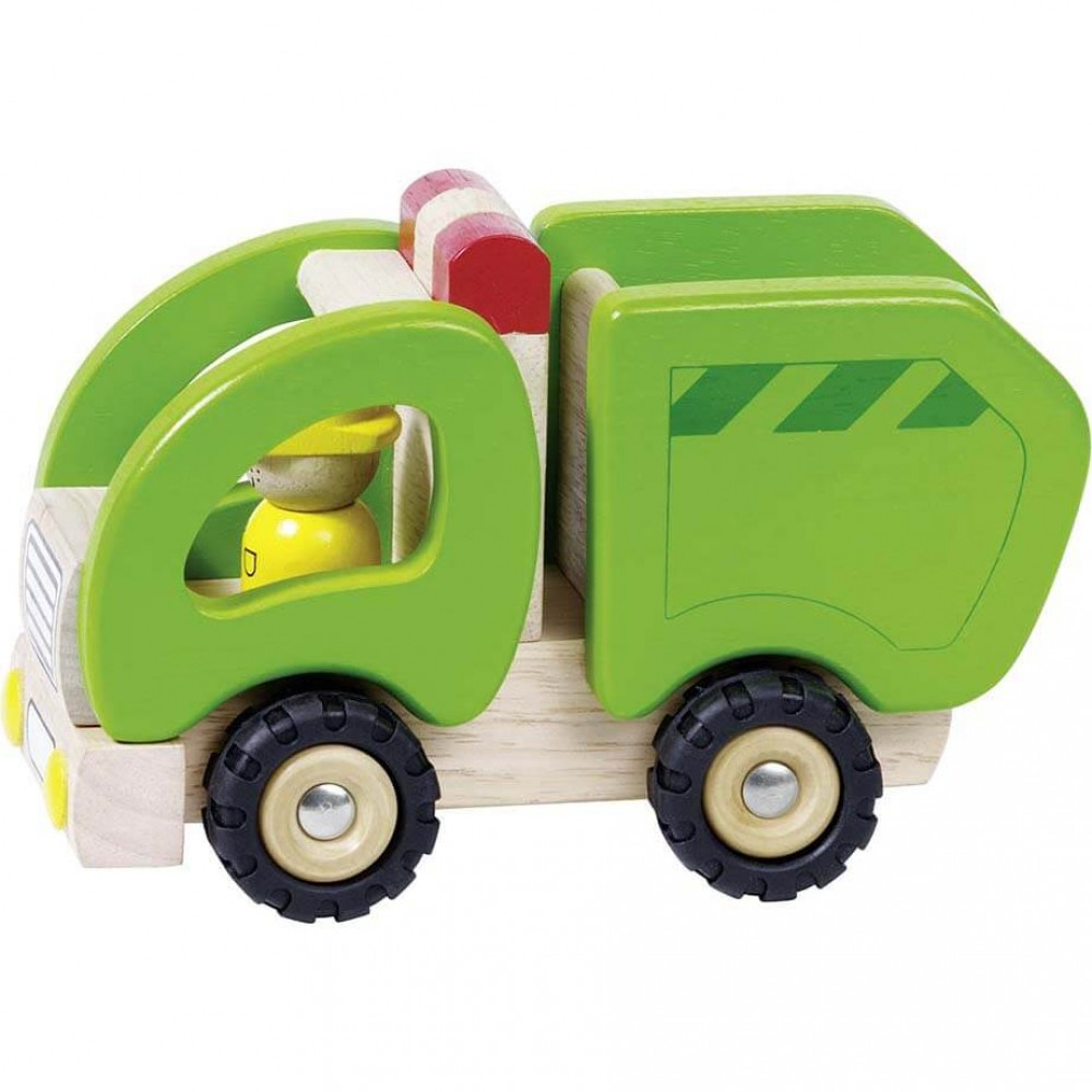 Зелен Боклукчийски Камион за Бутане GOKI