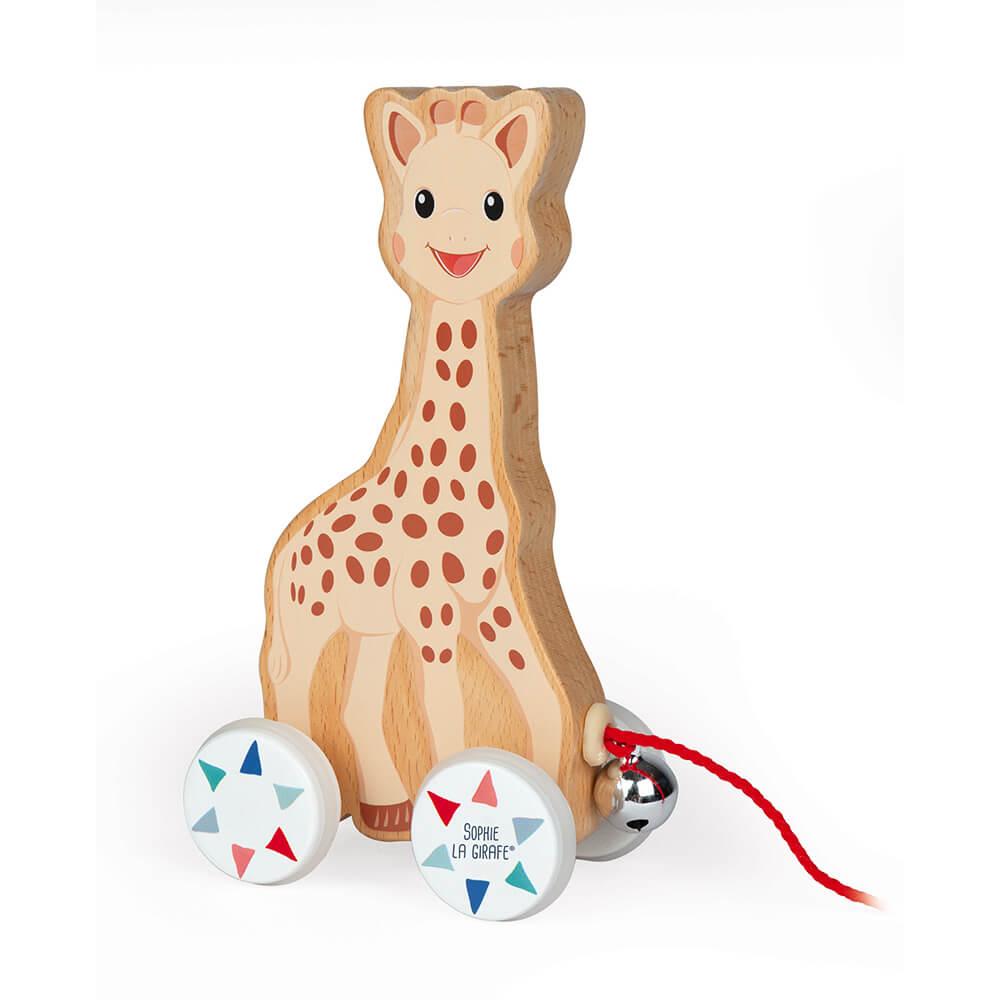 Жирафчето Софи с Камбанка за Дърпане JANOD
