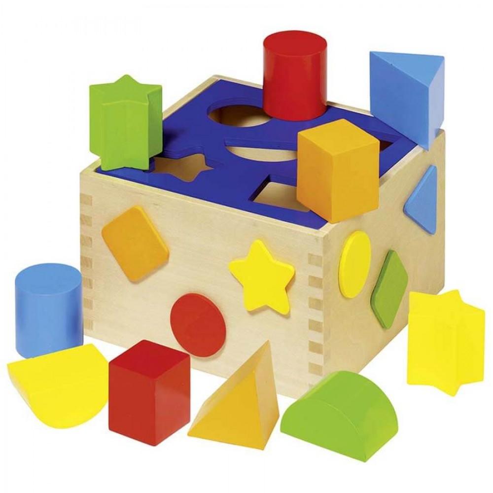 Цветна Кутия за Сортиране GOKI