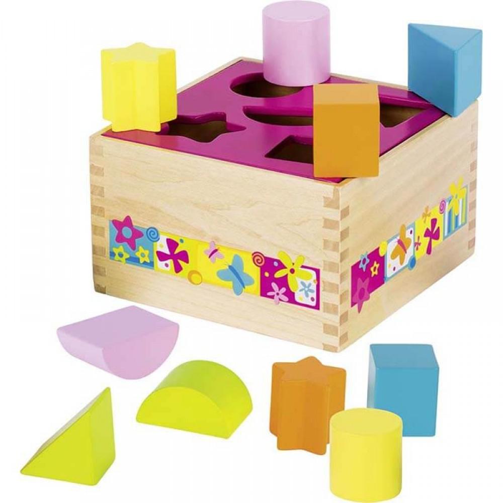 Цветна Кутия за Сортиране GOKI Susibelle