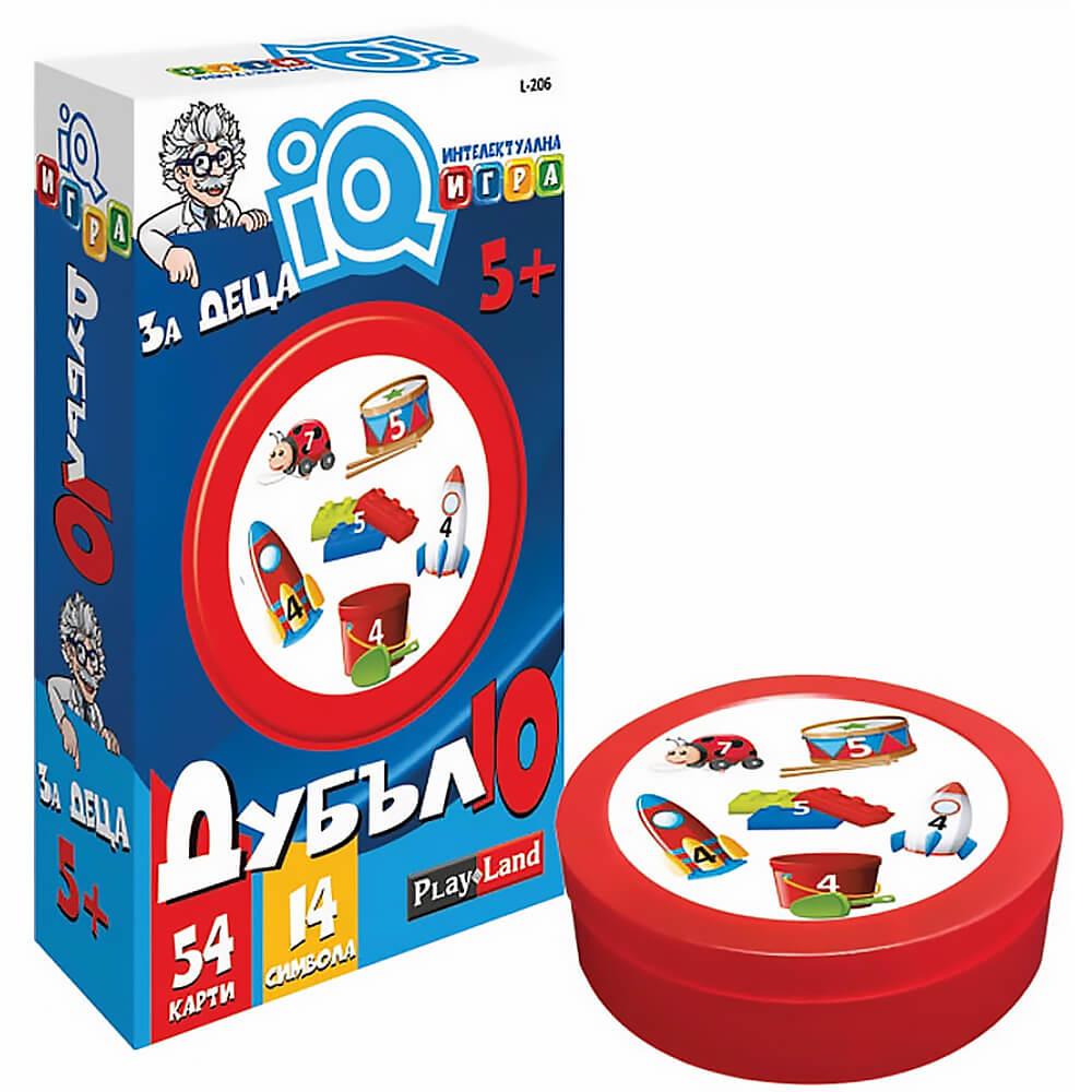 Дубъл IQ Надпревара – Детска Настолна Игра
