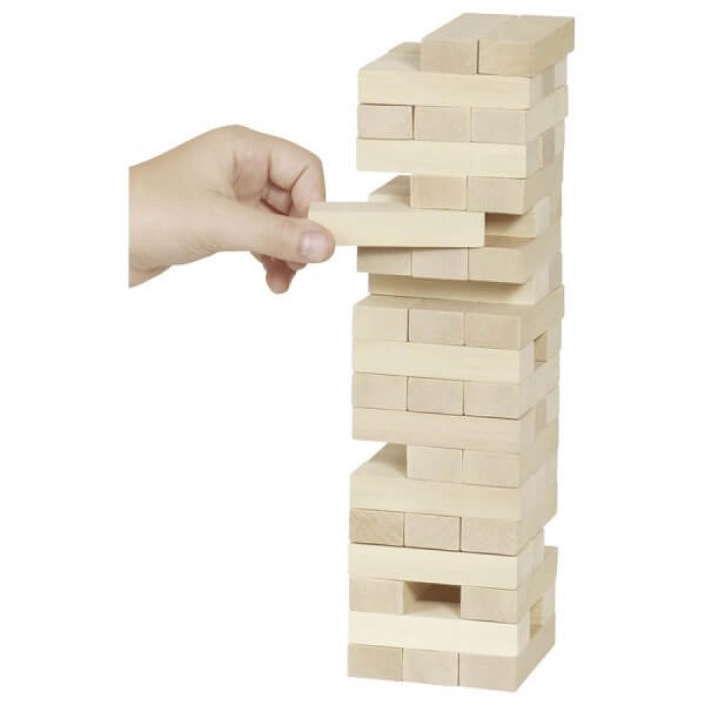 Дженга Кула от Дърво – Игра за Баланс