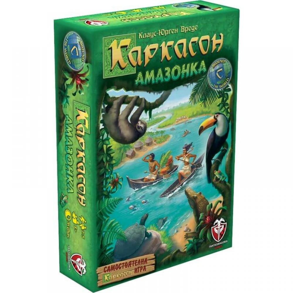 Каркасон Амазонка – Стратегическа Настолна Игра