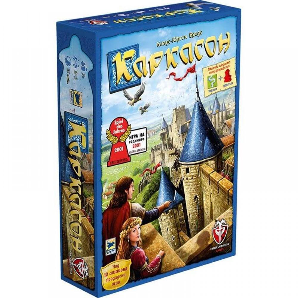 Каркасон Базова Игра – Стратегическа Настолна Игра