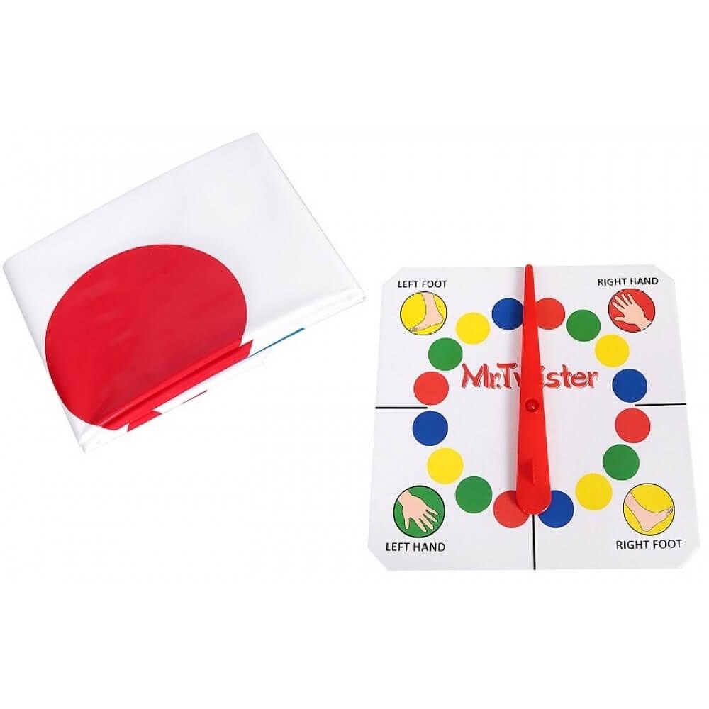 Mr. Twister – Игра за Пластичност