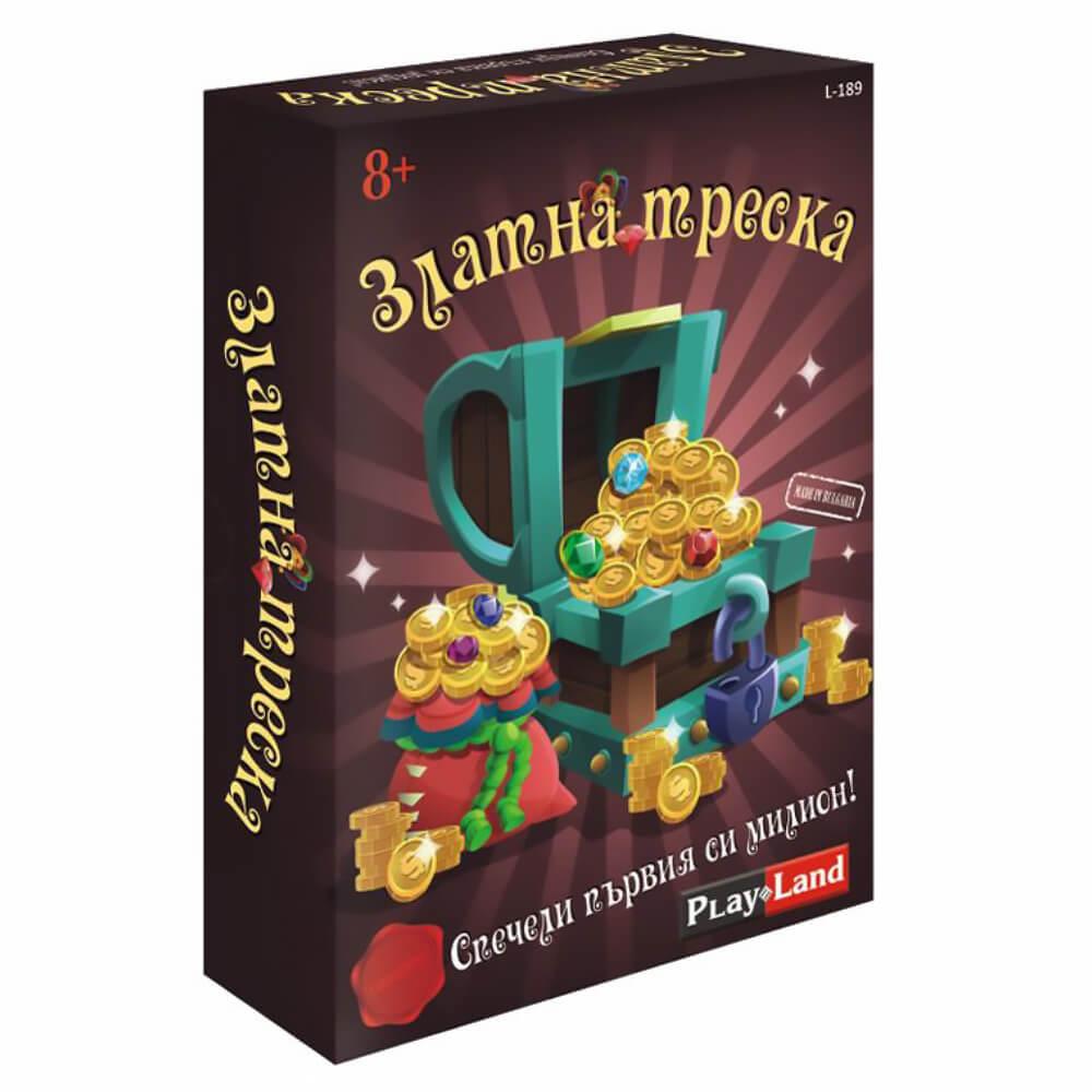 Златна Треска– Занимателна Настолна Игра