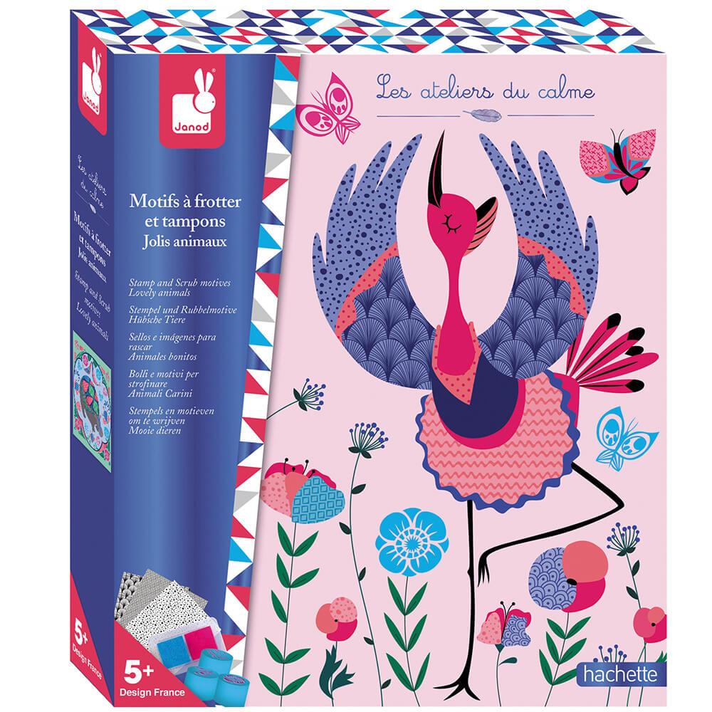 Комплект със Скреч Мотиви  – Печати на Красиви Животни