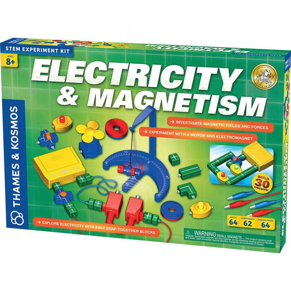 Научен Комплект Електричество и Магнетизъм – 62 Експеримента