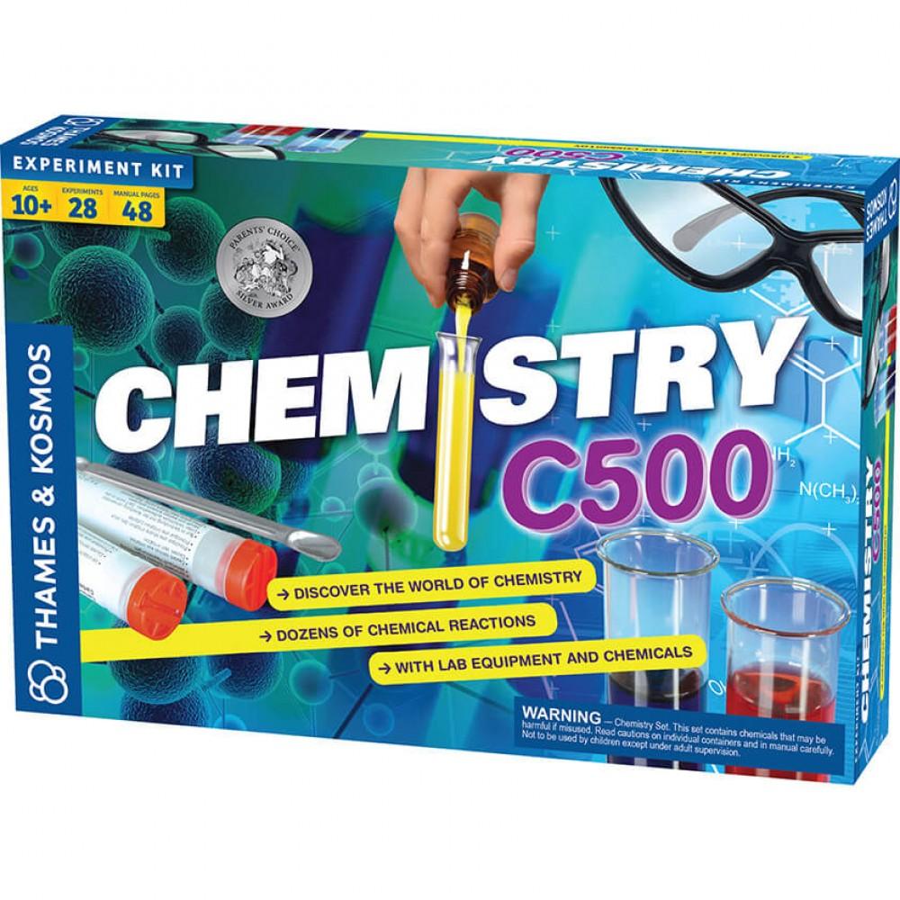 Химия C500 – Направи 28 Химични  Експеримента