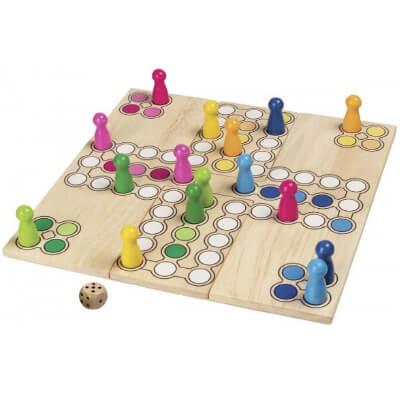 Дървени Настолни Игри