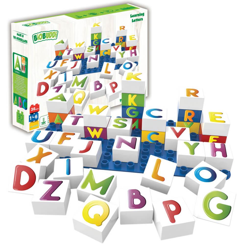 Кубчета с Букви – Конструктор Био Бъди 27 части