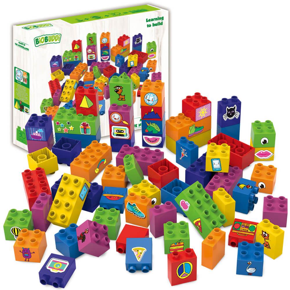 Образователни Кубчета – Конструктор Био Бъди 60 части