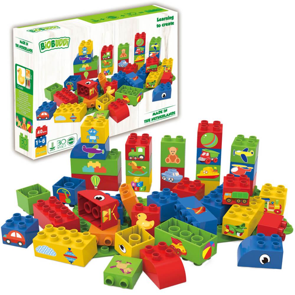 Образователни Кубчета за Момчета – Конструктор Био Бъди 40 части