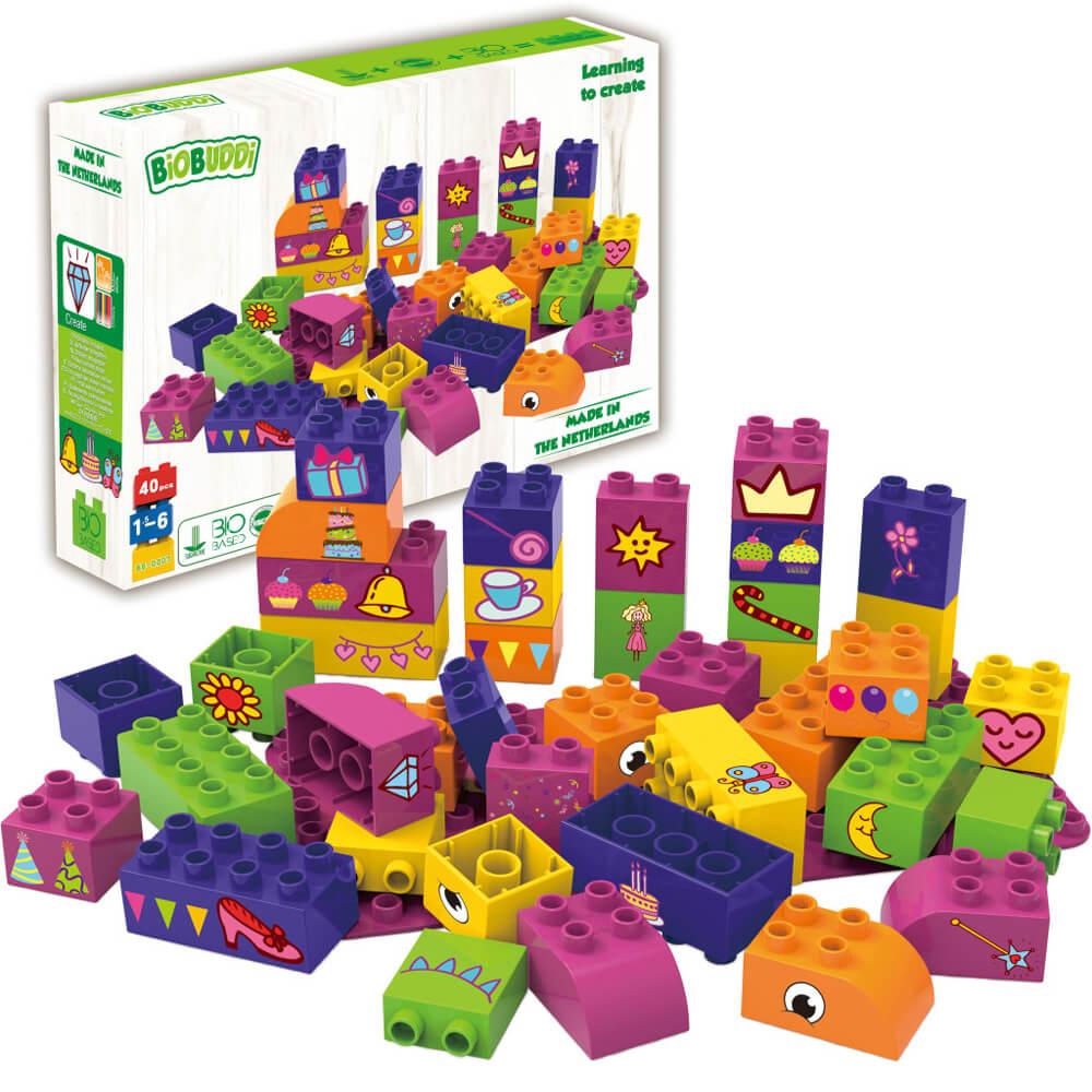 Образователни Кубчета за Момичета – Конструктор Био Бъди 40 части