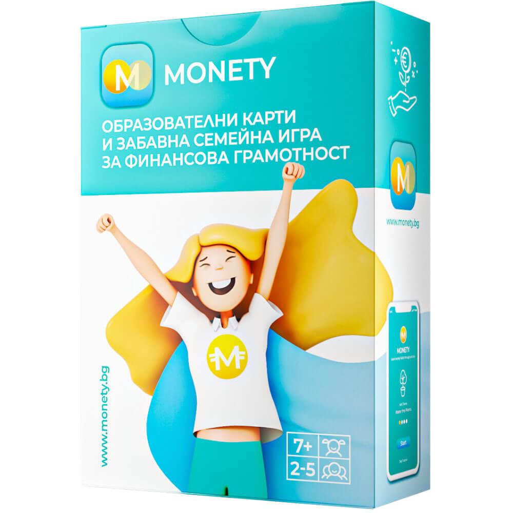 Образователни Карти и Забавна Семейна Игра за Финансова Грамотност – Monety