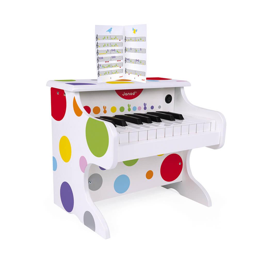Дървено Детско Пиано - JANOD Confetti