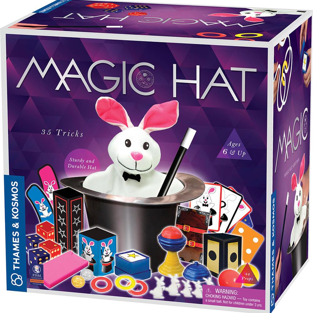 Магическа Шапка – Вълшебен Комплект с 35 трика