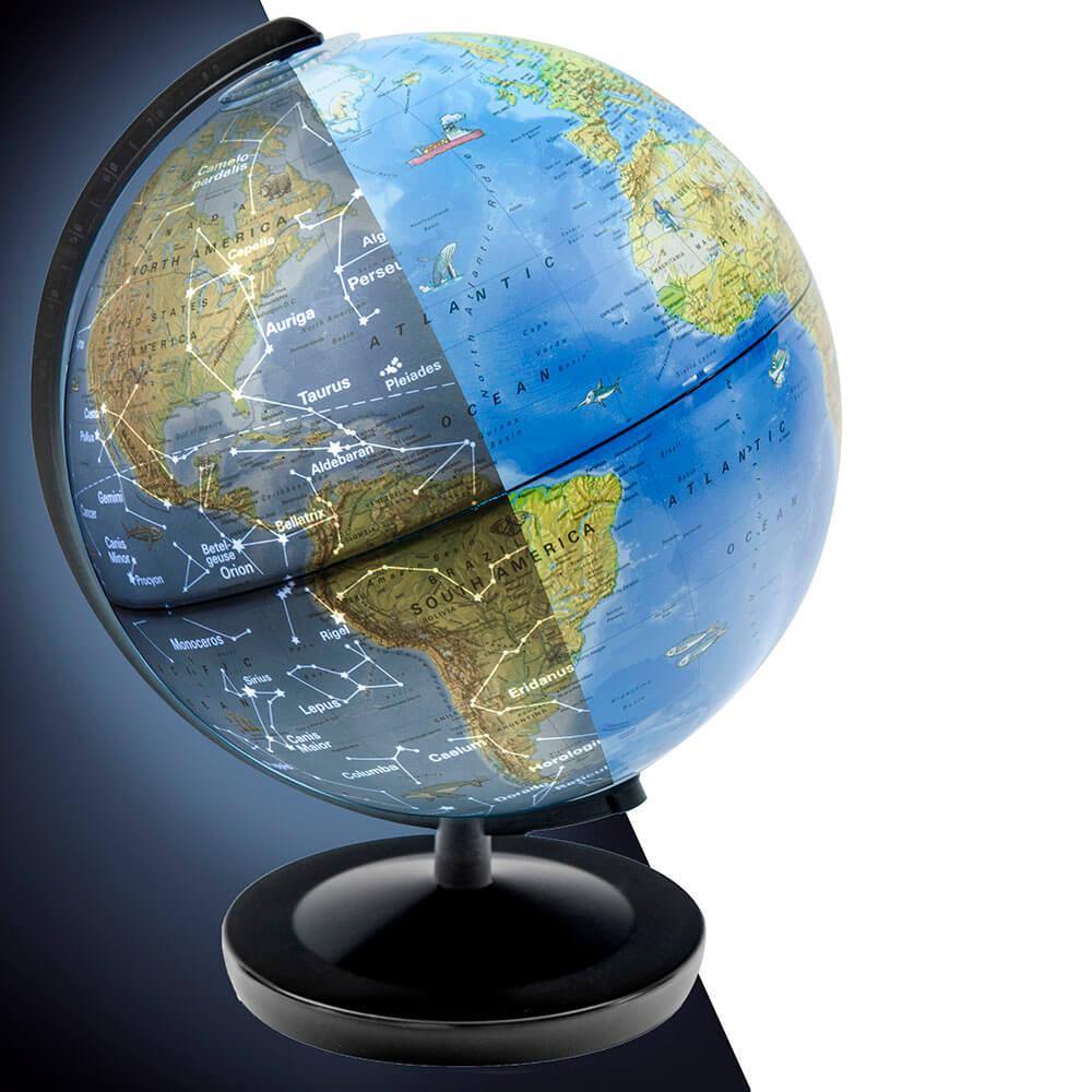 Глобус Ден и Нощ – Опознай Света